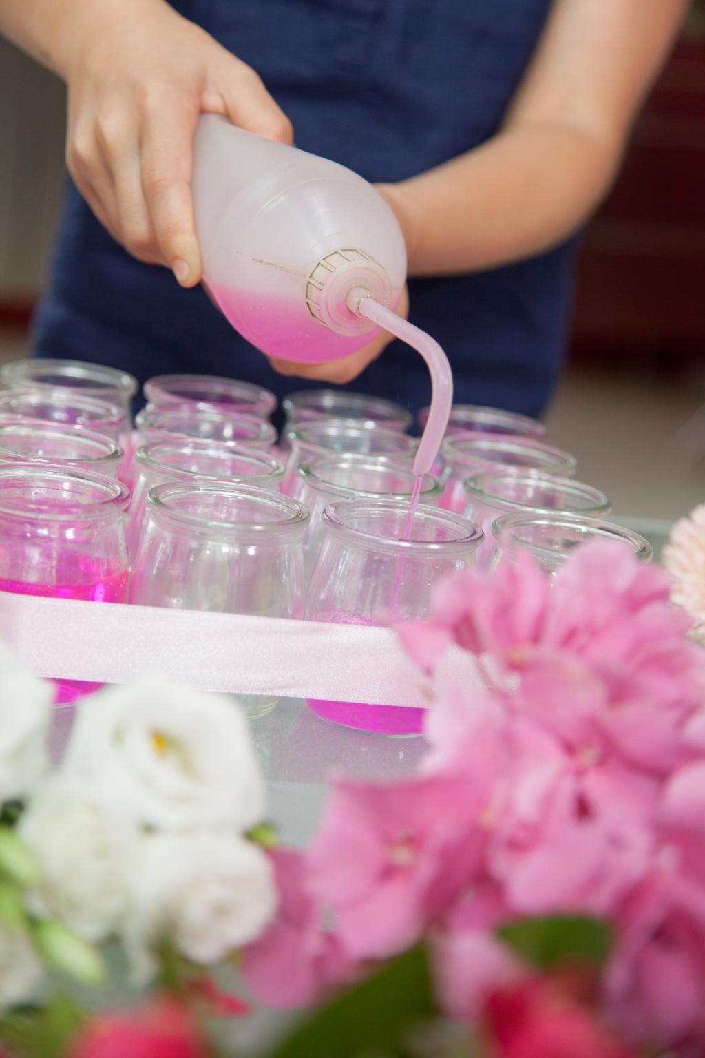Composition florale pour la fête des mères - Etape 7