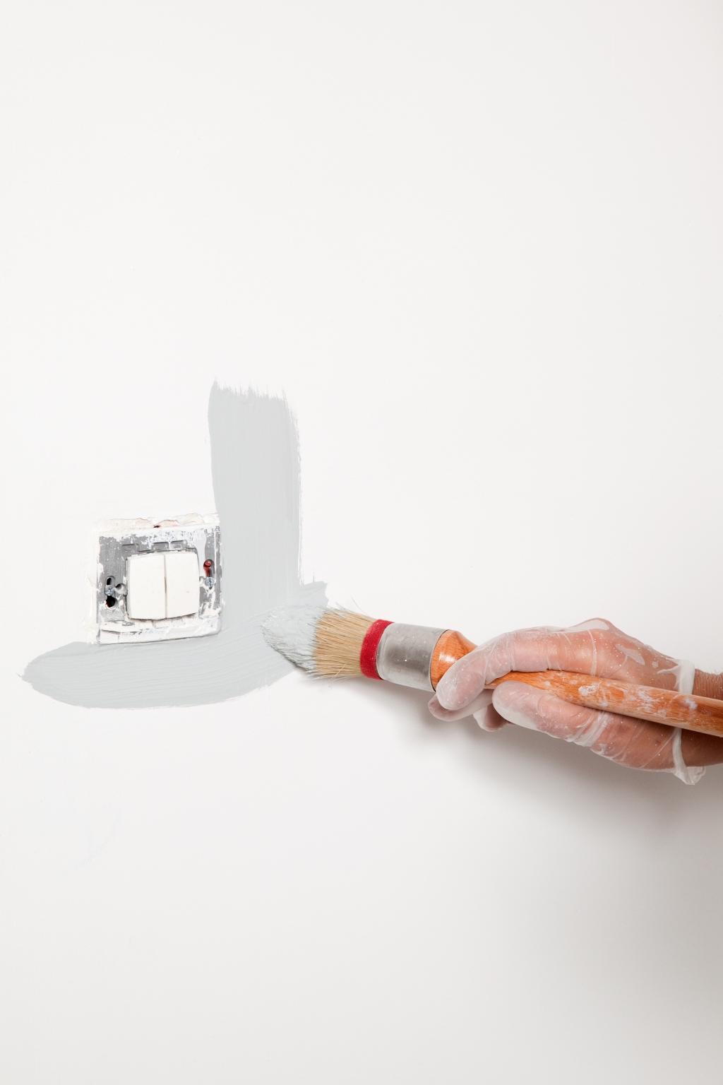 Peindre des murs avec de la peinture anti bruit - Étape 6