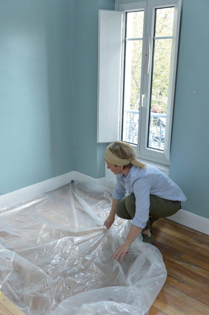 Préparer la pièce avant de peindre