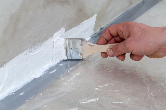 humidit prot ger un bas de mur diy family. Black Bedroom Furniture Sets. Home Design Ideas