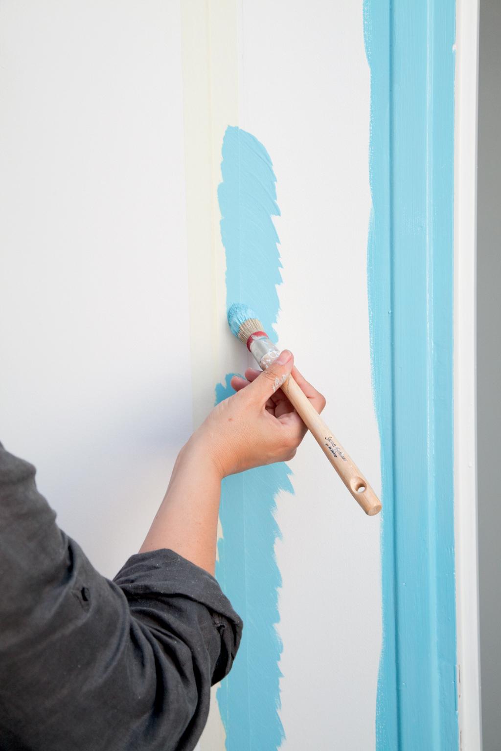 Comment peindre une porte au rouleau diy family - Quel rouleau pour peindre une porte ...