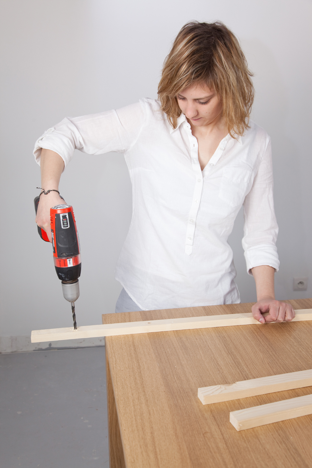 R Aliser Un Mur De Planches Diy Family # Comment Accrocher Les Planches A Tv Au Mur