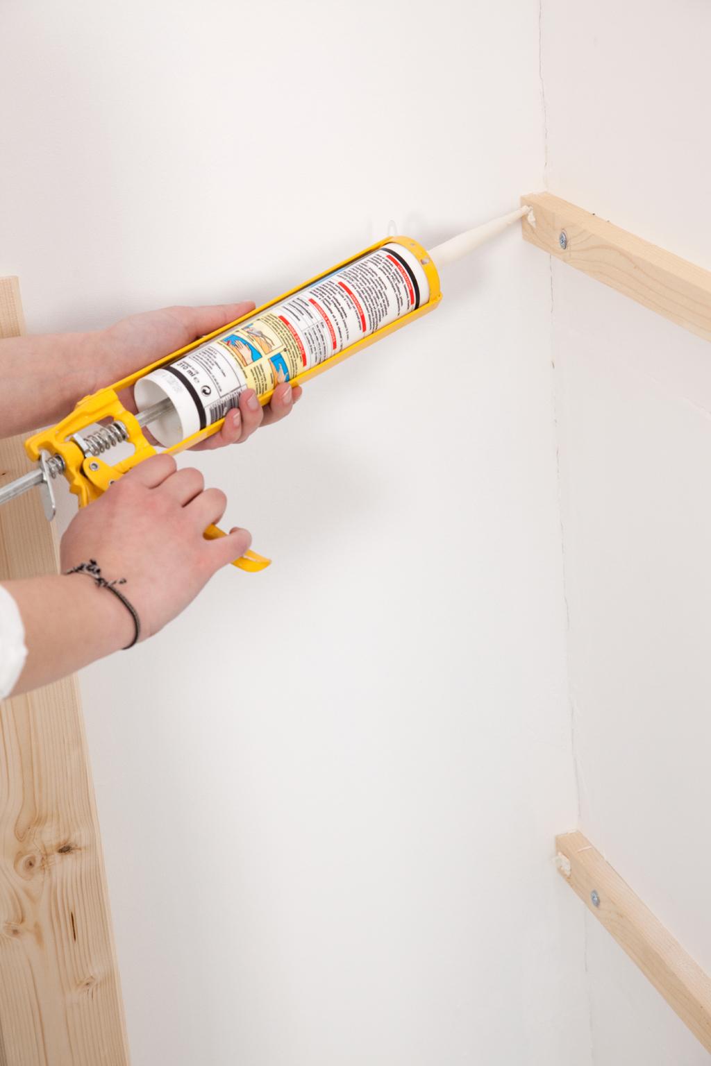 Réaliser un mur de planches
