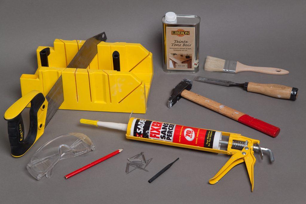 Réparer les lames d'un parquet abîmé