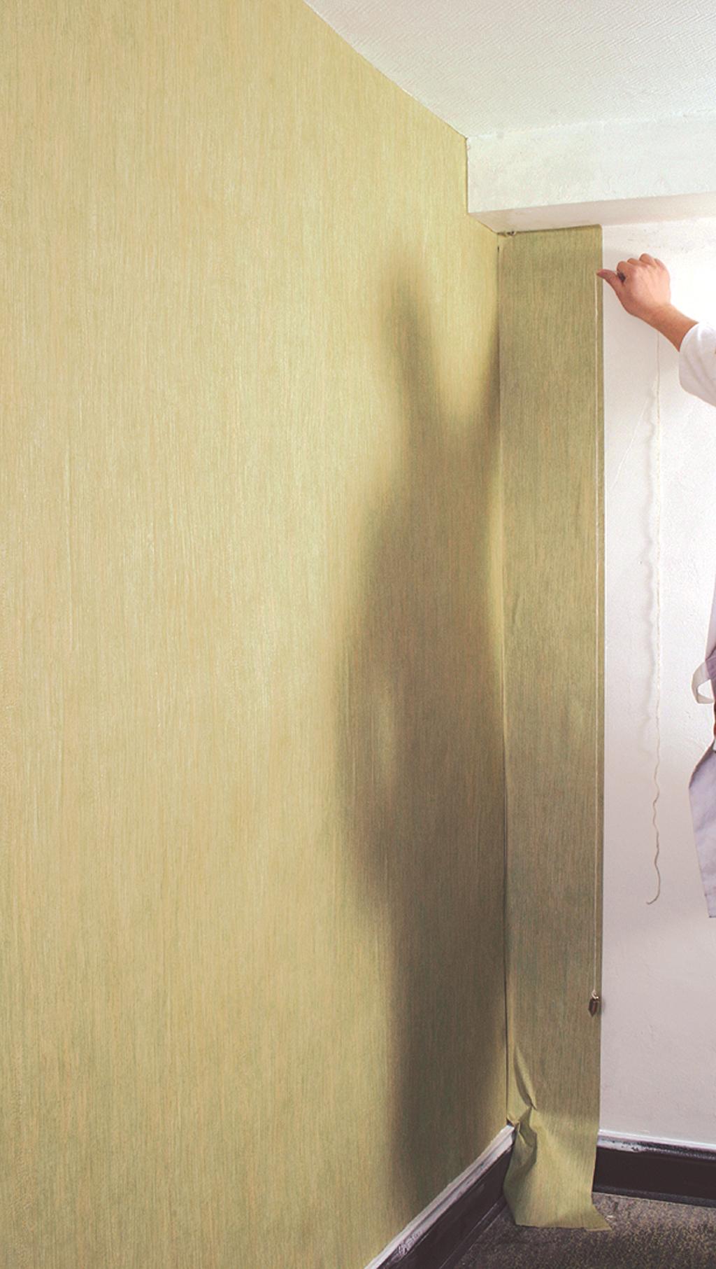 Poser du papier peint uni sans raccord