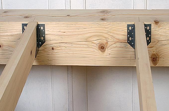 Surélever une terrasse en bois
