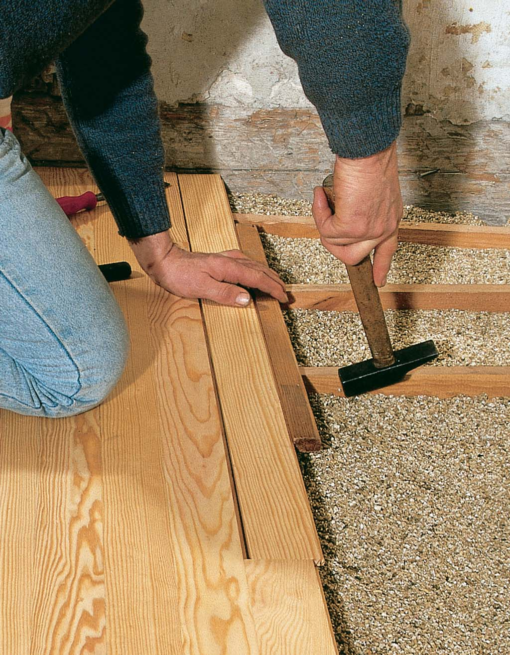 Comment clouer un parquet ?