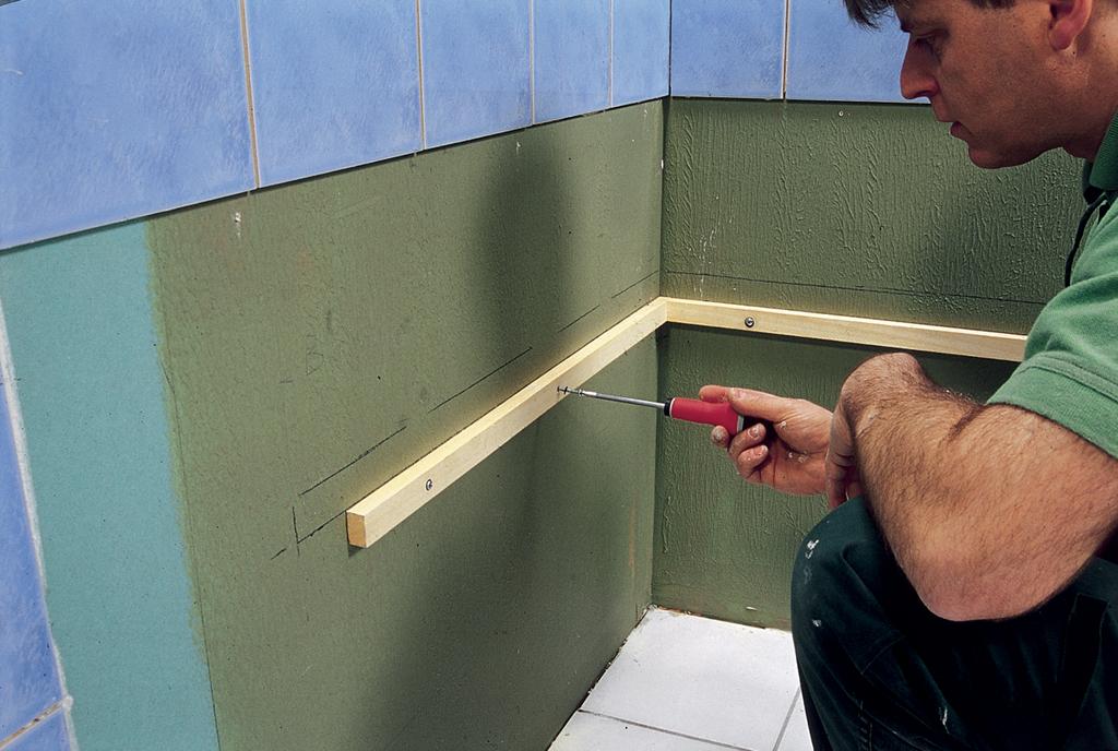 Installer une baignoire droite