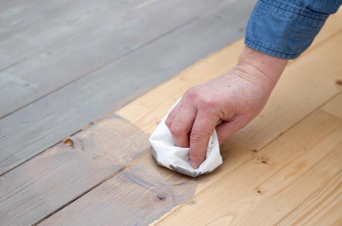 Comment teinter un parquet