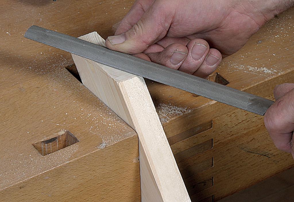 Fabriquer un volet en bois