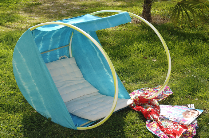 Transformer des cerceaux en fauteuil