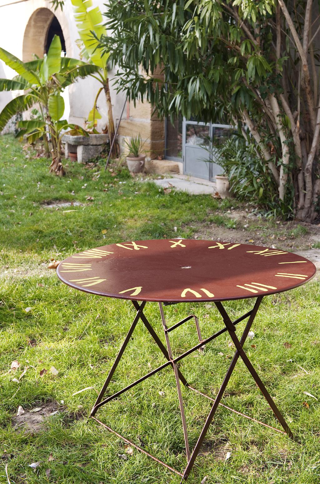 repeindre du mobilier du jardin en fer diy family