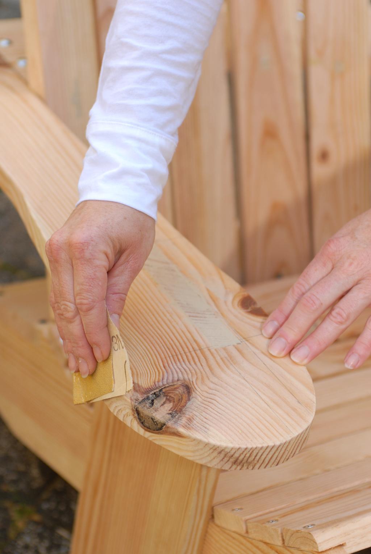 Fabriquer soi-même un fauteuil Adirondack