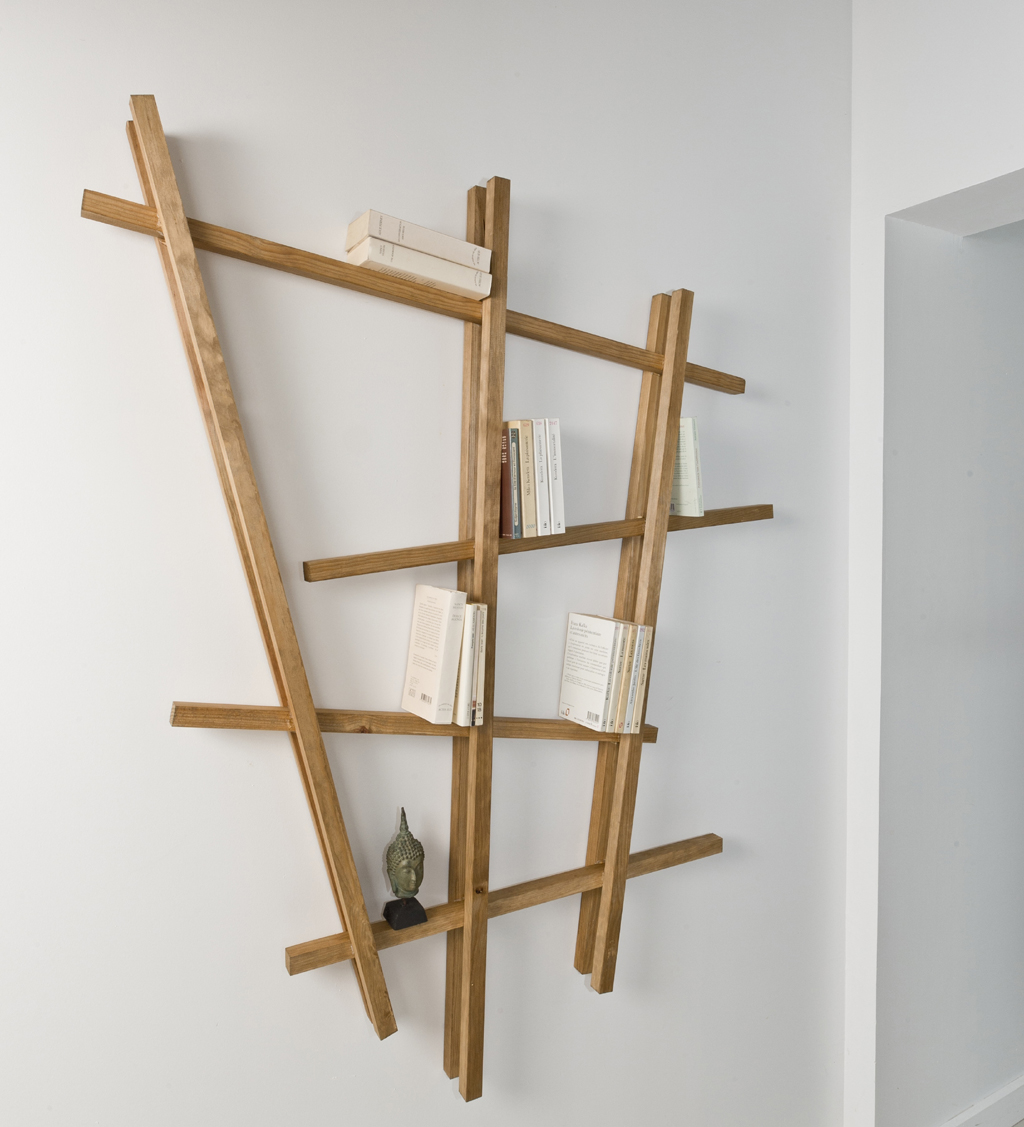 r aliser une tag re murale avec des tasseaux diy family. Black Bedroom Furniture Sets. Home Design Ideas