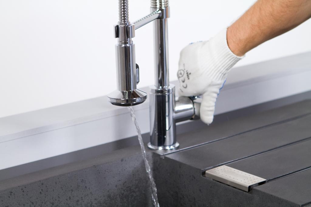 Poser et purger un robinet