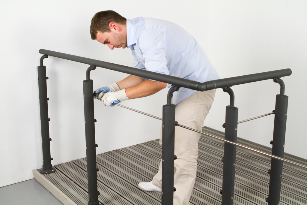 Installer une balustrade