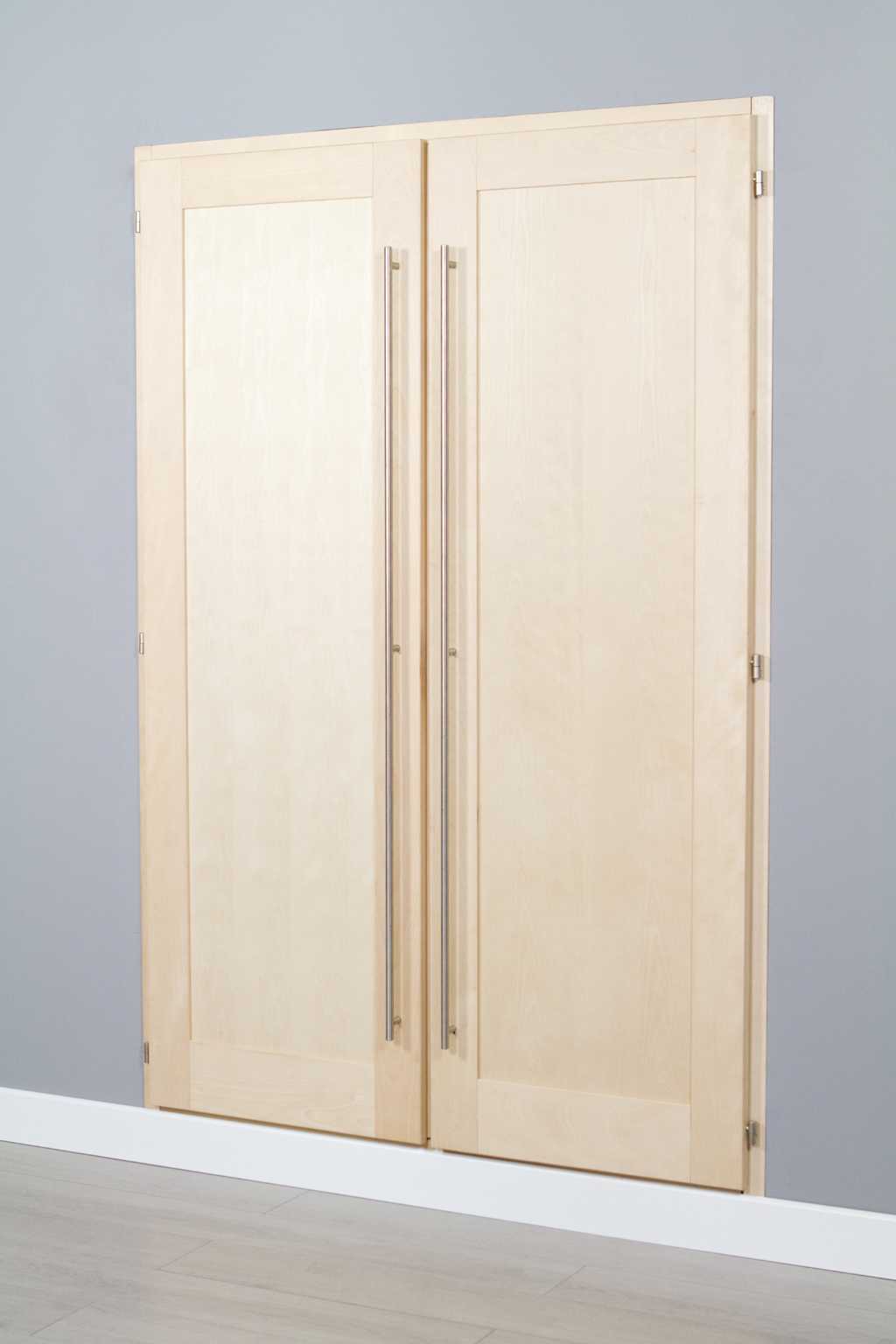 Poser des portes de placard battantes diy family - Poser porte placard ...