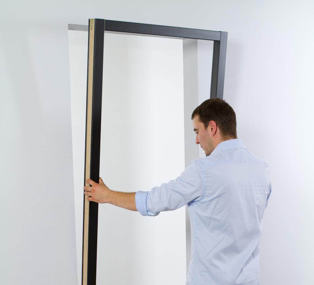Installer un bloc porte diy family - Comment installer un bloc porte ...
