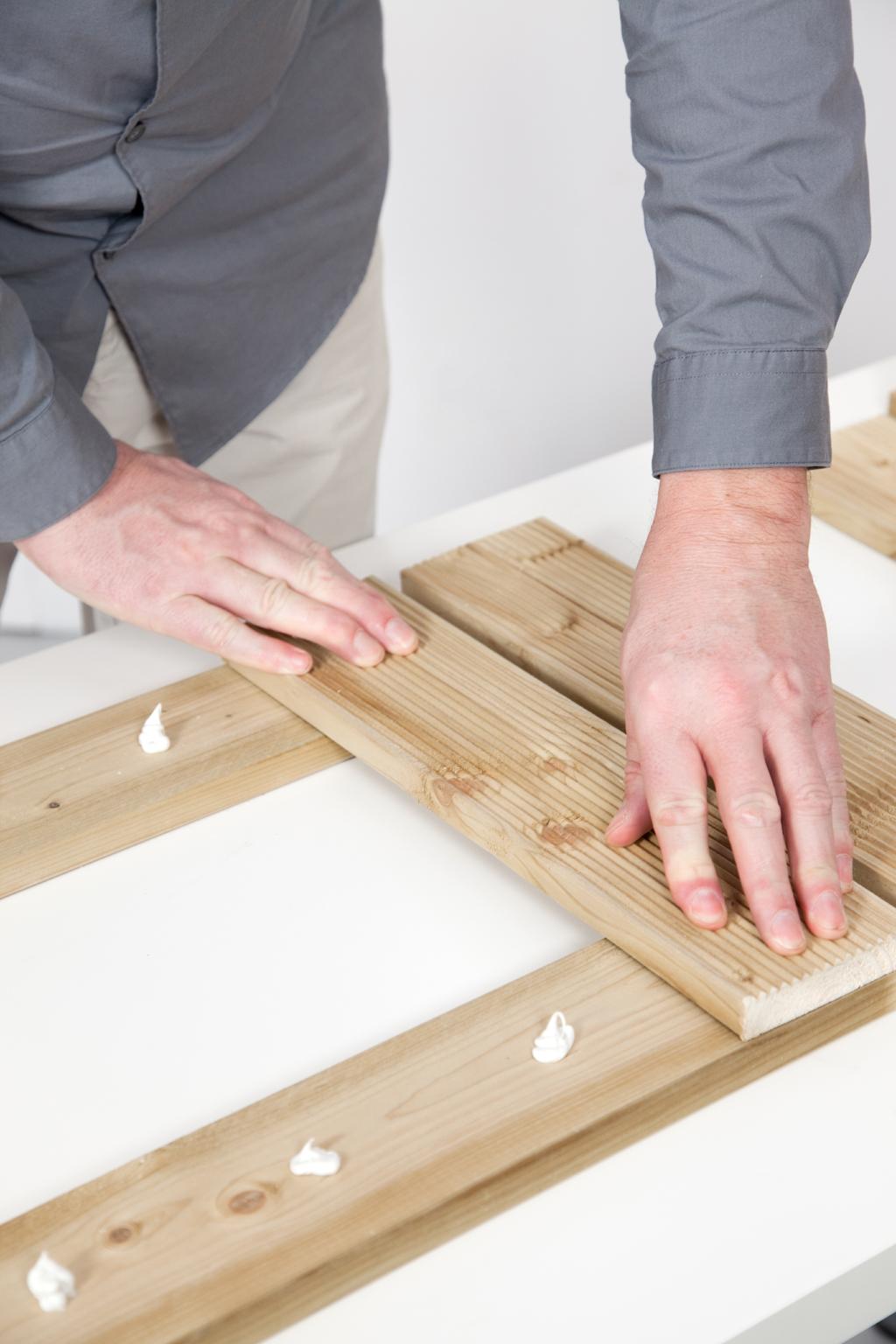 Creer une descente de baignoire en bois