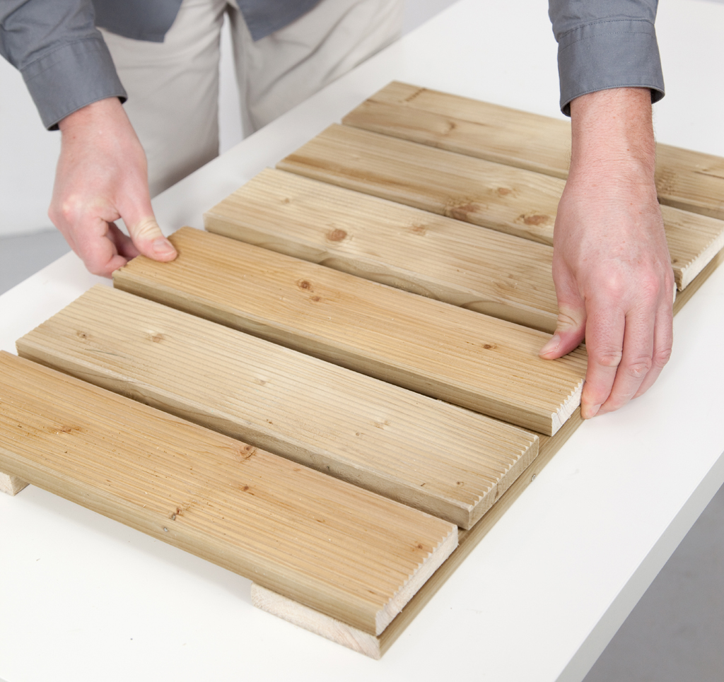 Créer une descente de baignoire en bois