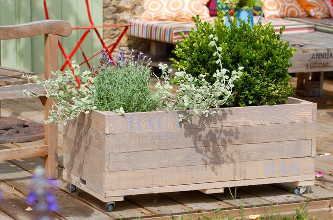 Creer un cache-pot pour ses plantes