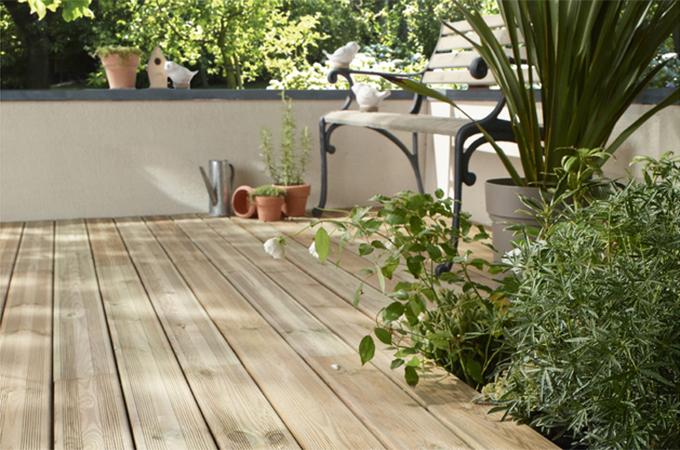 Le choix des lames pour une terrasse en bois