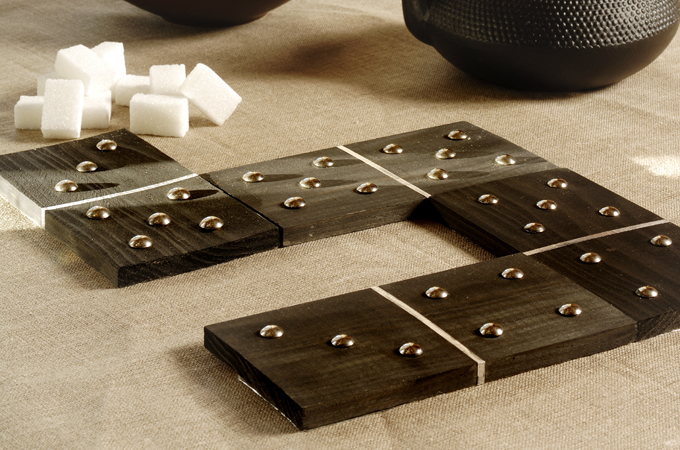 Faire des dessous de plat domino