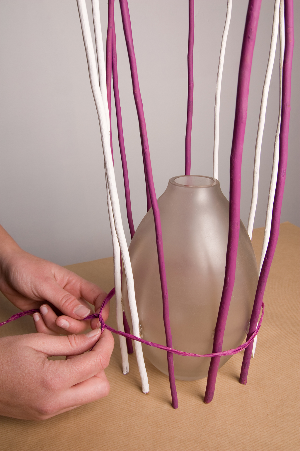 Transformer un vase en lampe