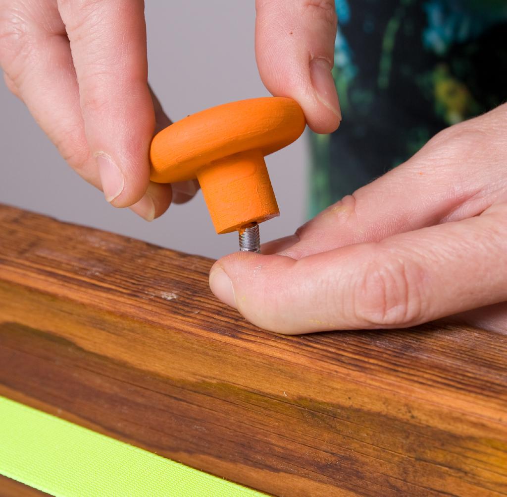Transformer une échelle avec des accessoires