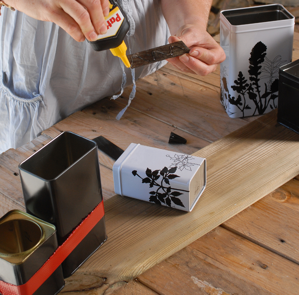 Transformer des boîtes en rangement