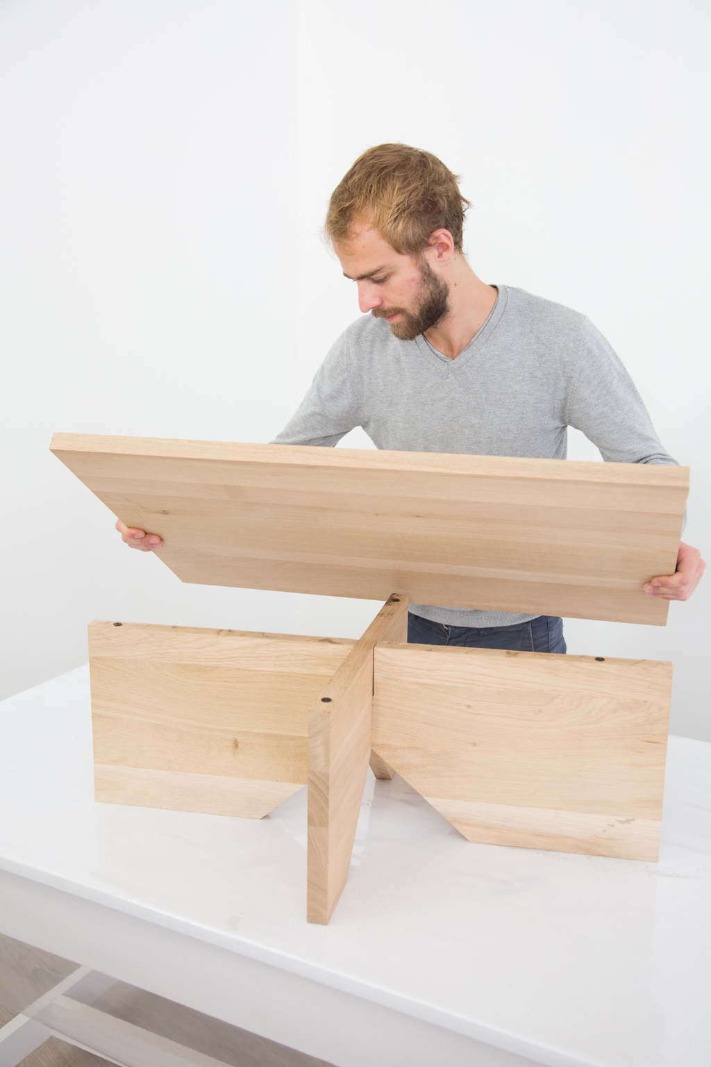 Fabriquer une table basse Simply