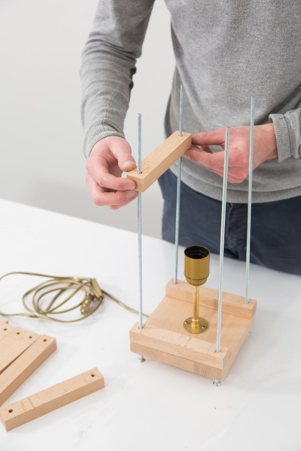 Fabriquer une lampe Tower