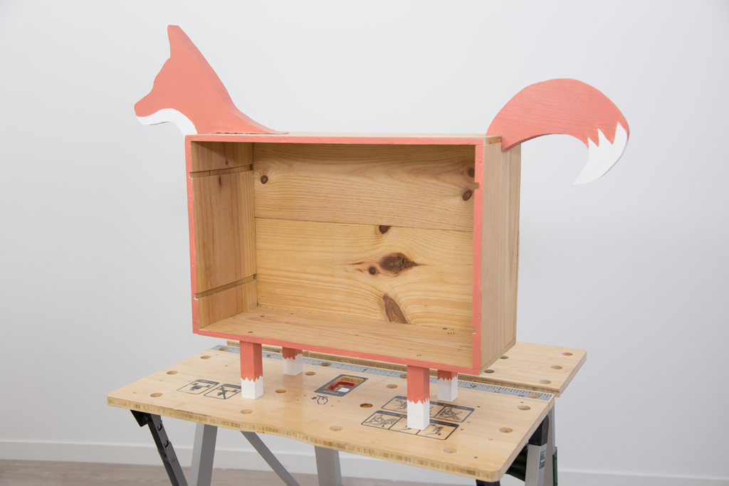 Creer un rangement Fox Box