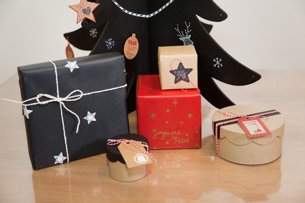 Customiser des cadeaux de Noel