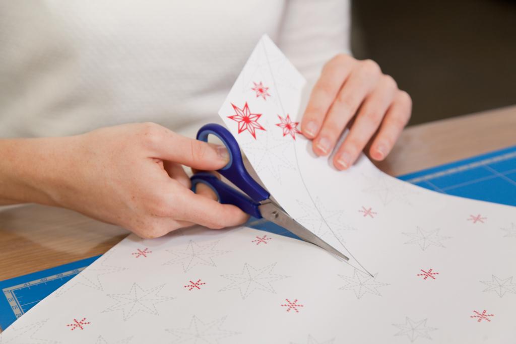 Decorer une etoile de Noel