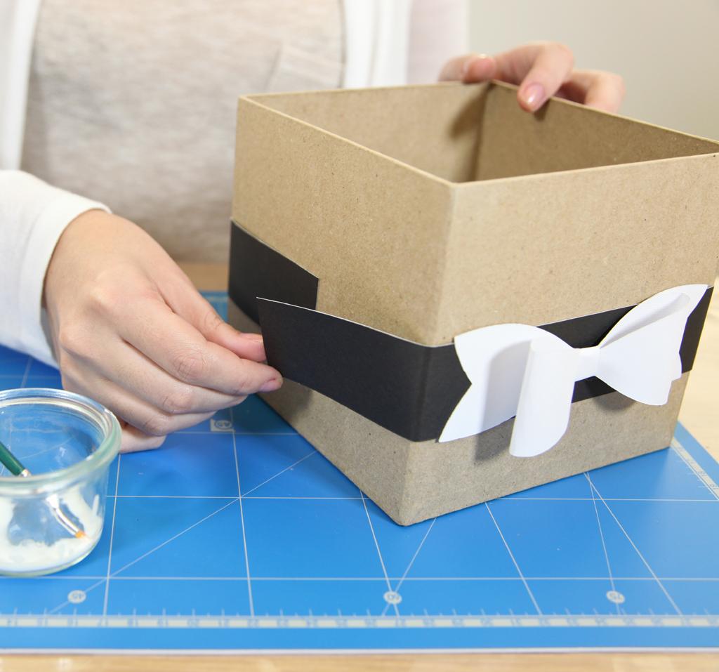 Customiser des boites pour des cadeaux de Noel