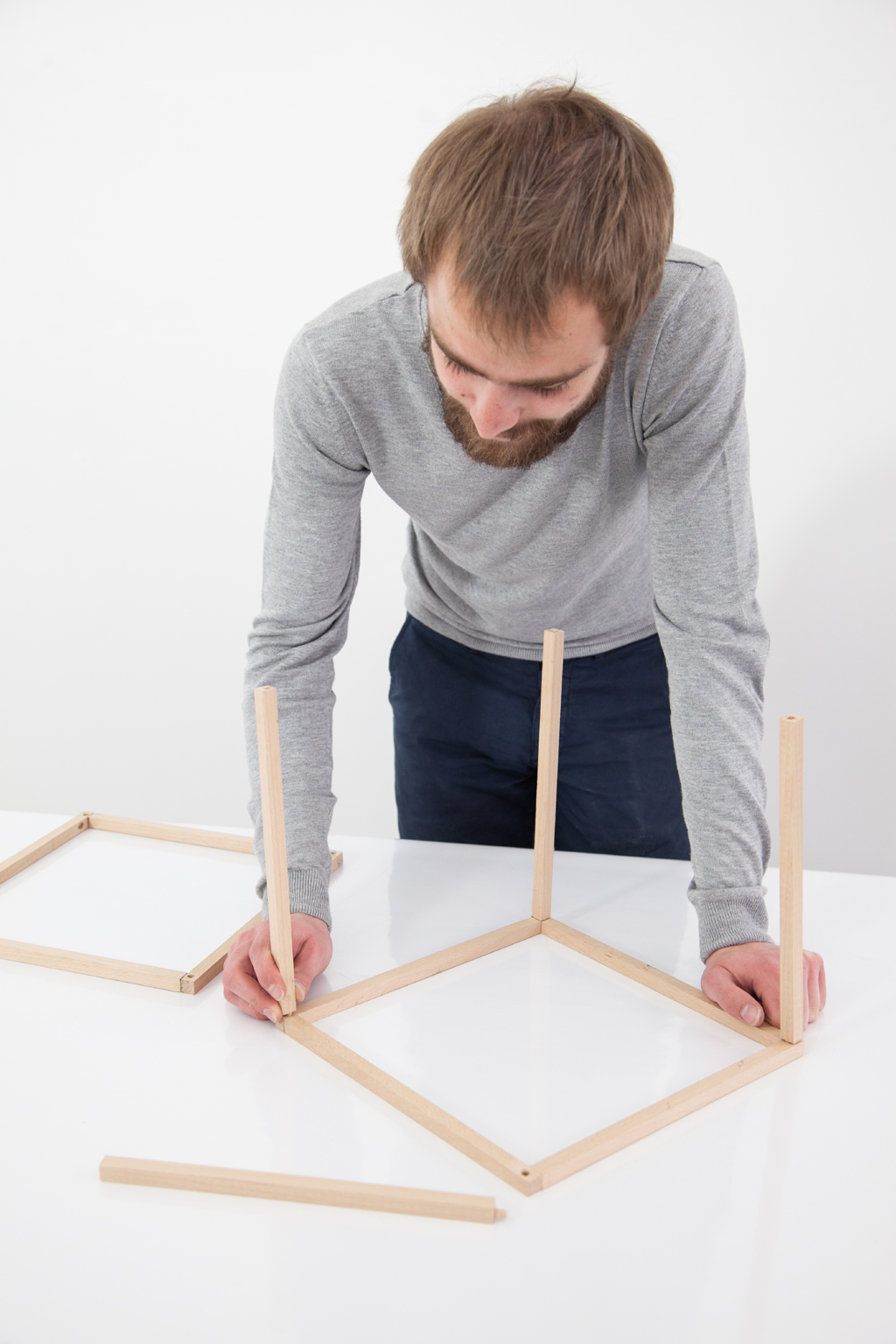 Realiser une suspension Cube