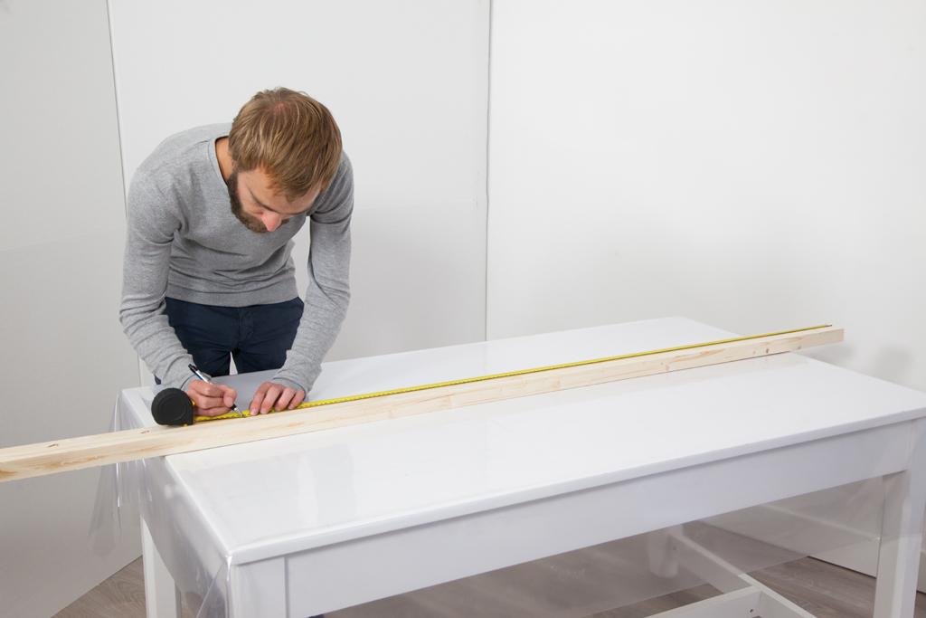 fabriquer un portant v tements copper diy family. Black Bedroom Furniture Sets. Home Design Ideas