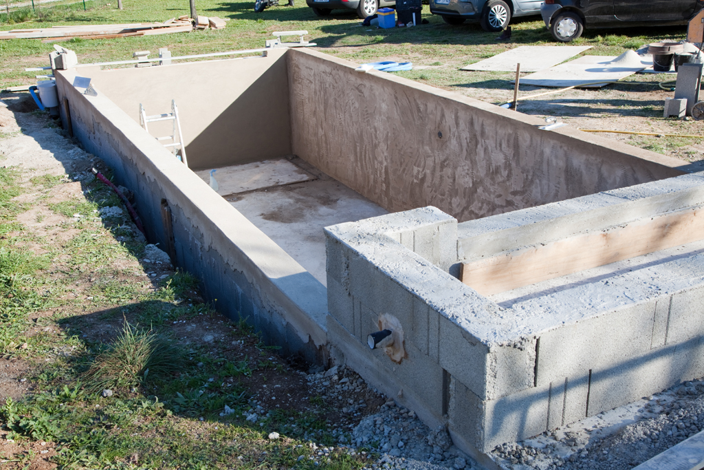 Impermeabiliser un bassin