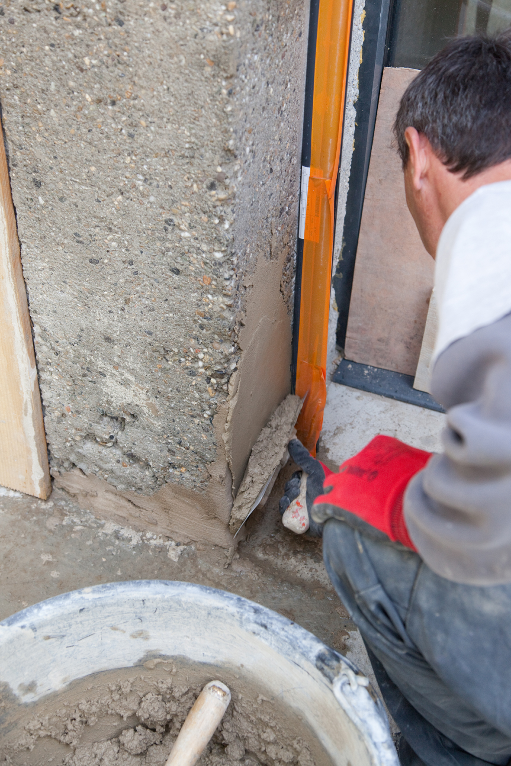 Imiter des pierres avec du ciment naturel