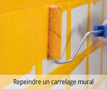 Repeindre du carrelage mural
