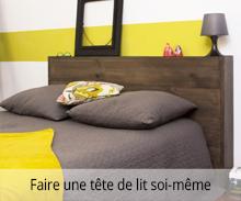 Créer une tête de lit avec du lambris