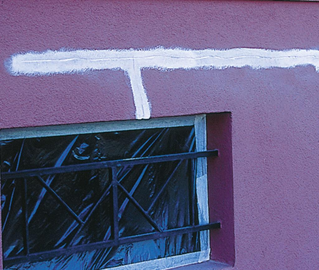Reparer une façade abîmée