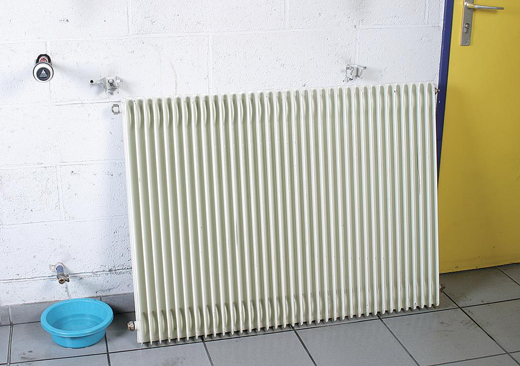 Demonter un radiateur