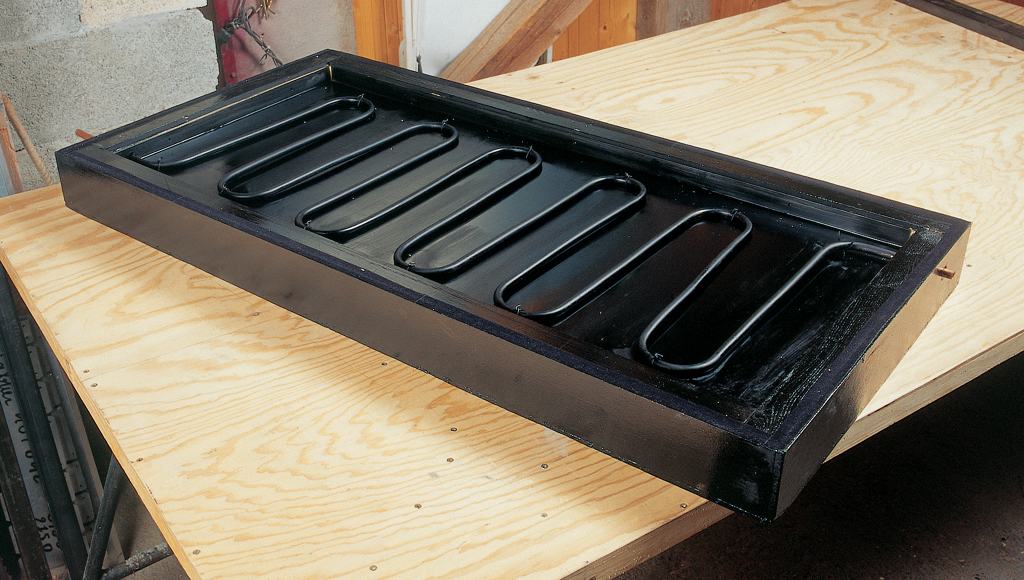 Fabriquer un caisson de panneau solaire