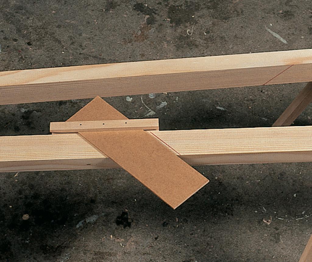 Construire une echelle de meunier