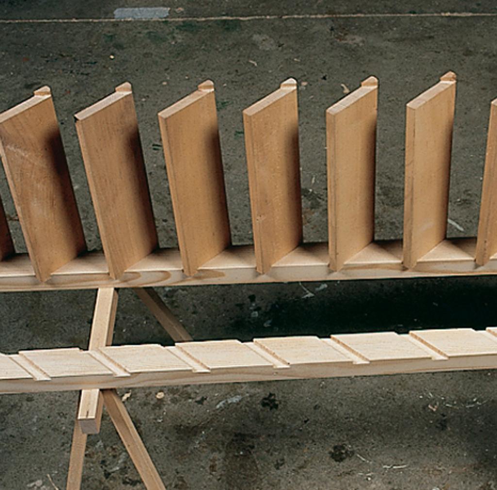 Comment fabriquer une echelle meuniere