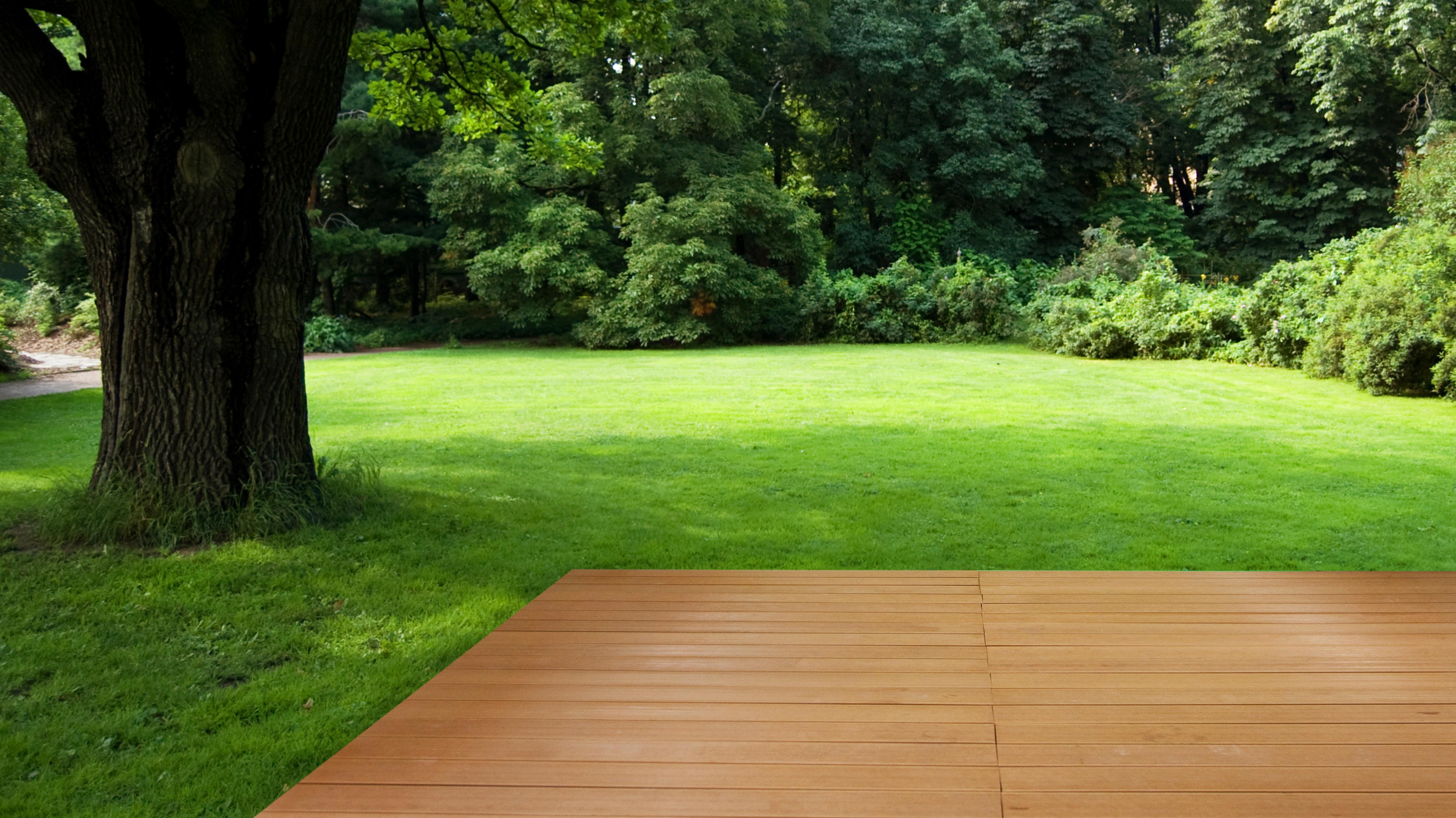 Terrasse en bois : naturel ou composite