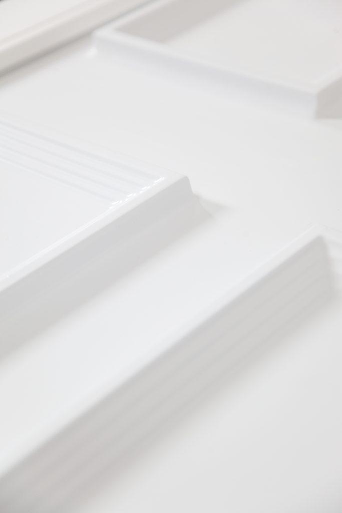 Repeindre une porte d'entrée en PVC Étape 5
