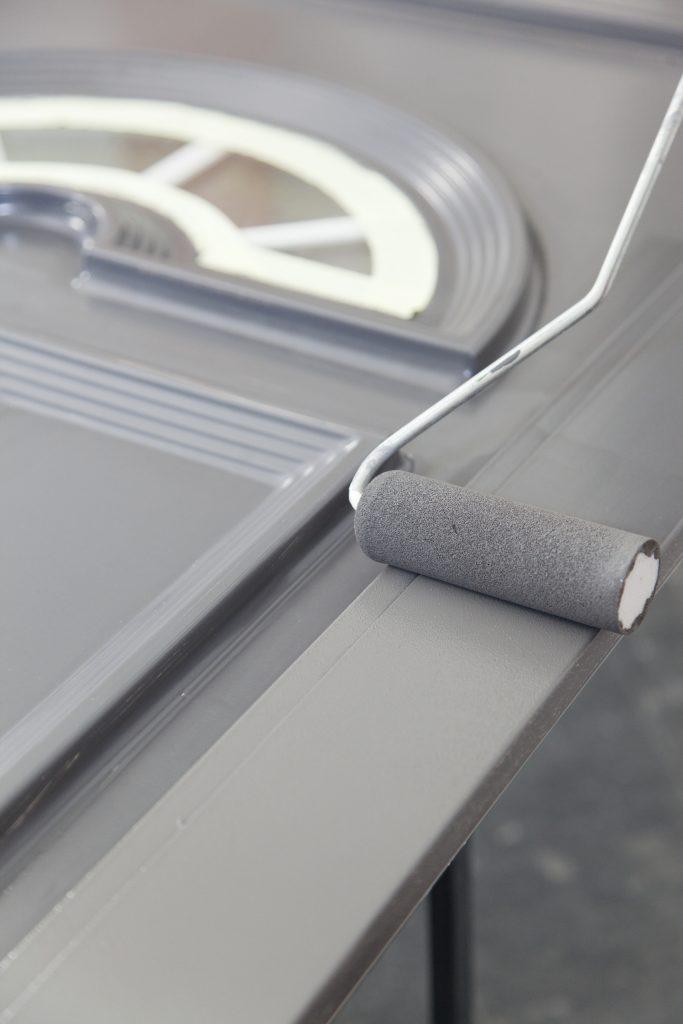 Repeindre une porte d'entrée en PVC Étape 13